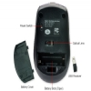 Alternate view 5 for GearHead MP2325BLK Wireless Optical Nano Mouse