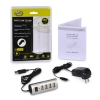 Alternate view 3 for Gear Head 4 Port Energy Saving USB 2.0 Hub