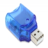 Alternate view 3 for GearHead USB 2.0 Digital SD/SDHC Card Reader