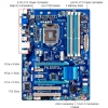 Alternate view 4 for GIGABYTE GA-Z77-DS3H Intel 7 Series Motherboard