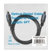 Alternate view 5 for PowerUp! Optical Digital Toslink 6ft Cable