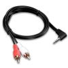 Alternate view 2 for PowerUp! 3.5mm to RCA Audio Adapter Cable 3ft