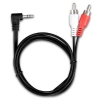Alternate view 3 for PowerUp! 3.5mm to RCA Audio Adapter Cable 3ft