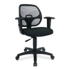 Alternate view 2 for Interion Mesh Back Black Office Chair