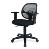 Alternate view 4 for Interion Mesh Back Black Office Chair
