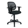 Alternate view 5 for Interion Mesh Back Black Office Chair 