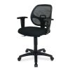 Alternate view 6 for Interion Mesh Back Black Office Chair 