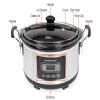 Alternate view 5 for Hamilton Beach 33965 6-Quart Slow Cooker