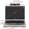 "Alternate view 5 for HP EliteBook 8460p 14"" Core i5 320GB Notebook"