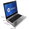 "Alternate view 3 for HP EliteBook Core i5 4GB, 500GB HDD, 14"" Notebook"