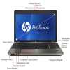 "Alternate view 6 for HP Probook 15.6"" AMD 8GB 750GB Windows 7Pro Laptop"