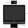 "Alternate view 5 for HP Compaq 23"" Core i5 500GB All-In-One PC"