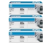 Alternate view 2 for HP LaserJet 85A CE285A Black Toner 3-Pack Bundle
