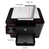 Alternate view 5 for HP TopShot M275 WiFi Color Laser Pro Multifunction