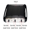 Alternate view 3 for Home Image HI-8K103 Multi Cooker/Grill