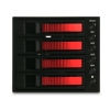 Alternate view 3 for iStarUSA BPU-340SA-RED SATA Hot-Swap Raid Cage