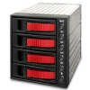 Alternate view 6 for iStarUSA BPU-340SA-RED SATA Hot-Swap Raid Cage