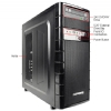 Alternate view 3 for iBUYPOWER TG511 FX-4100, 8GB, 1TB HDD Gaming PC