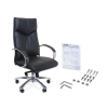 Alternate view 3 for Interion Black Executive Office Chair