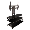 Alternate view 3 for Cravin TDDPF44B TV mount Flat Panel TV Stand