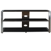 Alternate view 2 for Cravin TDUCP48 Wood Glass HDTV Stand