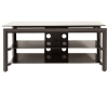 "Alternate view 2 for Cravin TDLBH44 44"" Metal and Glass TV Stand"
