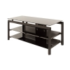 Alternate view 4 for Cravin TDLBH44 44&quot; Metal and Glass TV Stand 