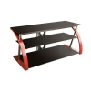 Alternate view 4 for Cravin TDRTNWB48 48in Wood 2 Shelf TV Stand