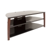 Alternate view 4 for Cravin TDIIX50W 50in wide Metal Glass TV Stand