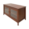 Alternate view 5 for Cravin TDLCT5028 Walnut Finish A/V Credenza
