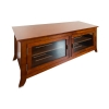 Alternate view 4 for Cravin TDLAP50 walnut finish TV Credenza