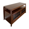 Alternate view 3 for Cravin TDYAB4828  Walnut Finish A/V Furniture