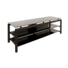 Alternate view 4 for Cravin TDLBH60 60&quot; Metal Glass TV Stand 