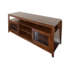 Alternate view 4 for Cravin TDYAB6028 Walnut Finish AV HDTV Credenza