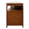 Alternate view 7 for Cravin TDYAB6028 Walnut Finish AV HDTV Credenza