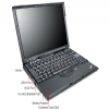 Alternate view 3 for Lenovo ThinkPad X61 Notebook PC