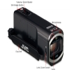 Alternate view 3 for JVC GZ-V500BU Full HD Memory Camcorder