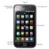 Alternate view 3 for Samsung I9000 Galaxy S Unlocked GSM Cell Phone