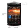 Alternate view 3 for BlackBerry Storm2 9550 Unlocked Cell Phone