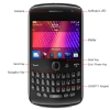 Alternate view 3 for Blackberry Curve 9360 Unlocked Cell Phone