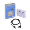 Alternate view 3 for Kensington K39252US Power & Sync Cable-iPhone4