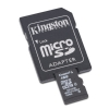 Alternate view 2 for Kingston 4GB MicroSDHC Card with SD Adapter