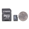Alternate view 4 for Kingston 4GB MicroSDHC Card with SD Adapter