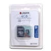 Alternate view 5 for Kingston 4GB MicroSDHC Card with SD Adapter
