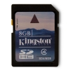 Alternate view 6 for Kingston 8GB SDHC Class 4 Flash Card