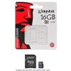 Alternate view 6 for Kingston 16GB microSDHC Flash Card