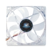 Alternate view 2 for Kingwin Advanced Series 120mm Yellow LED Case Fan
