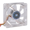 Alternate view 2 for Kingwin CFBL-08LB 80mm LED Case Fan