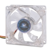 Alternate view 4 for Kingwin CFBL-08LB 80mm LED Case Fan