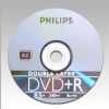 Alternate view 2 for Philips DR8S8B25F/17 25 Pack 8X DVD+R DL Spindle